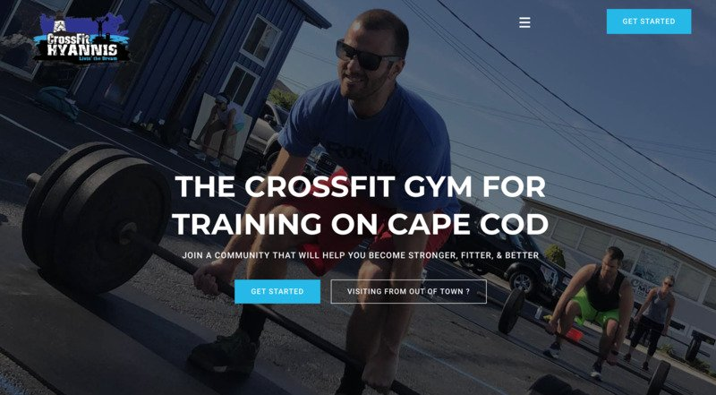 CrossFit Hyannis storybrand website example