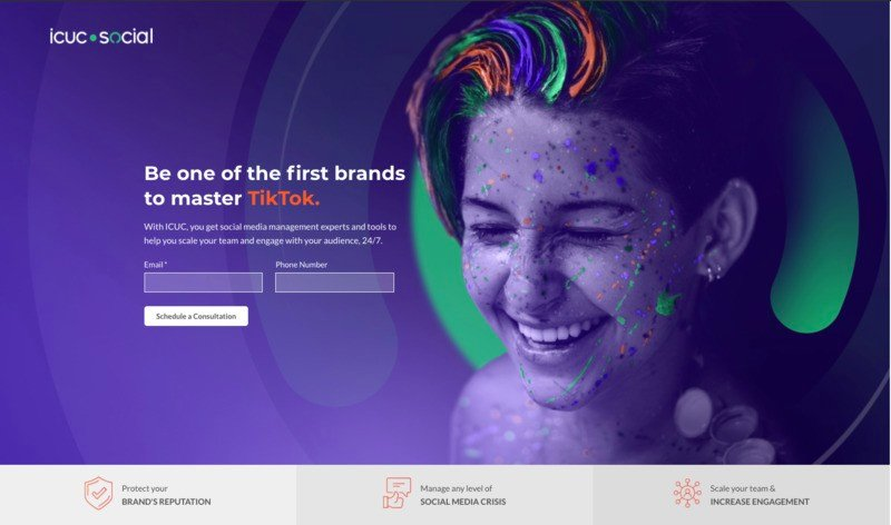 ICUC storybrand website example