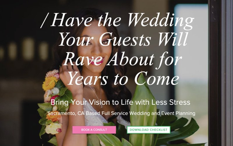Shaquarrius Calloway Events storybrand website example