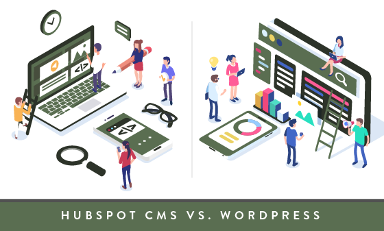 Hubspot vs. Wordpress development
